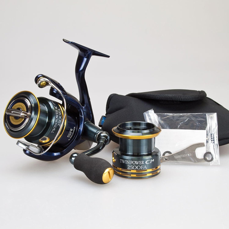 SHIMANO Twin Power CI4 FA Fishing Reel: Amazon co uk: Sports & Outdoors
