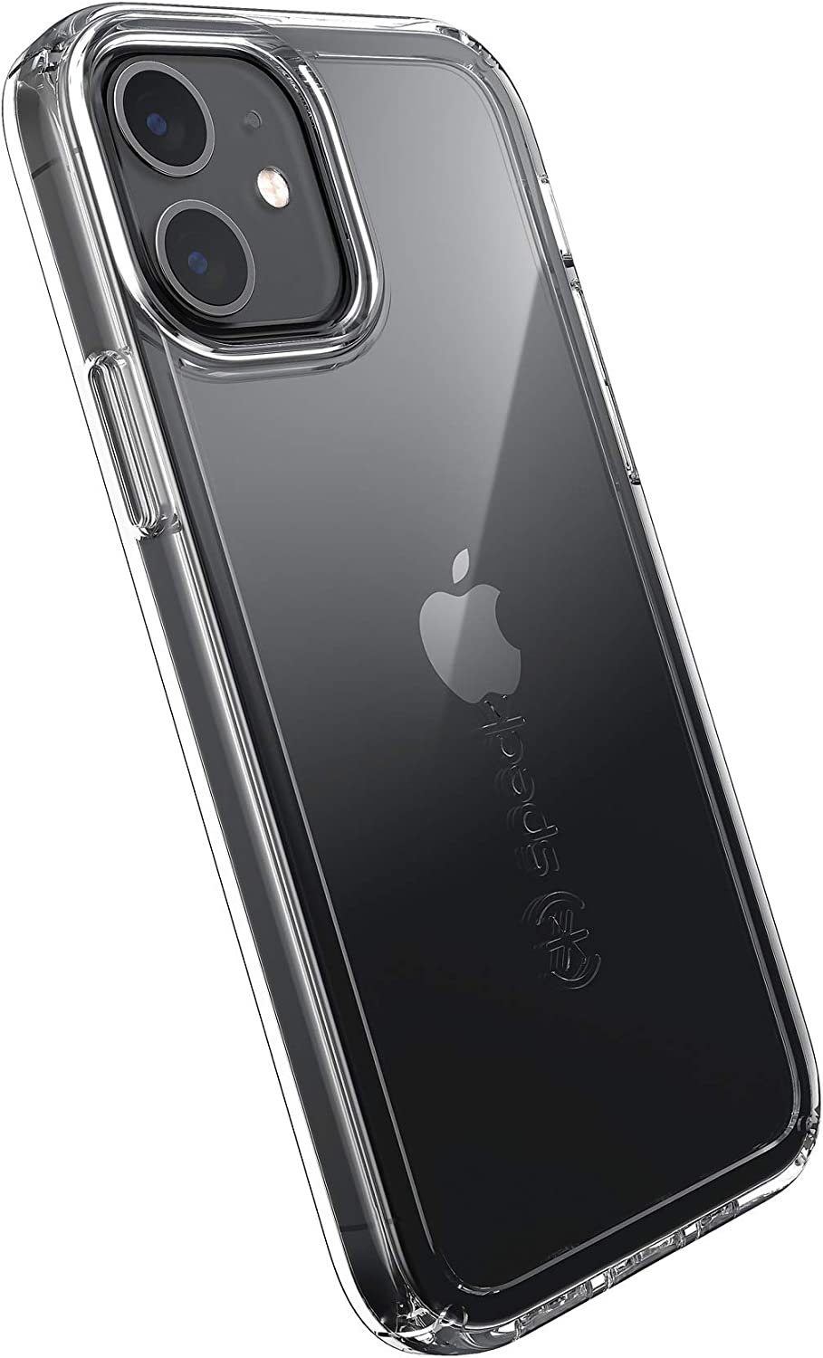 Speck Products GemShell iPhone 12, iPhone 12 Pro Case, Clear/Clear