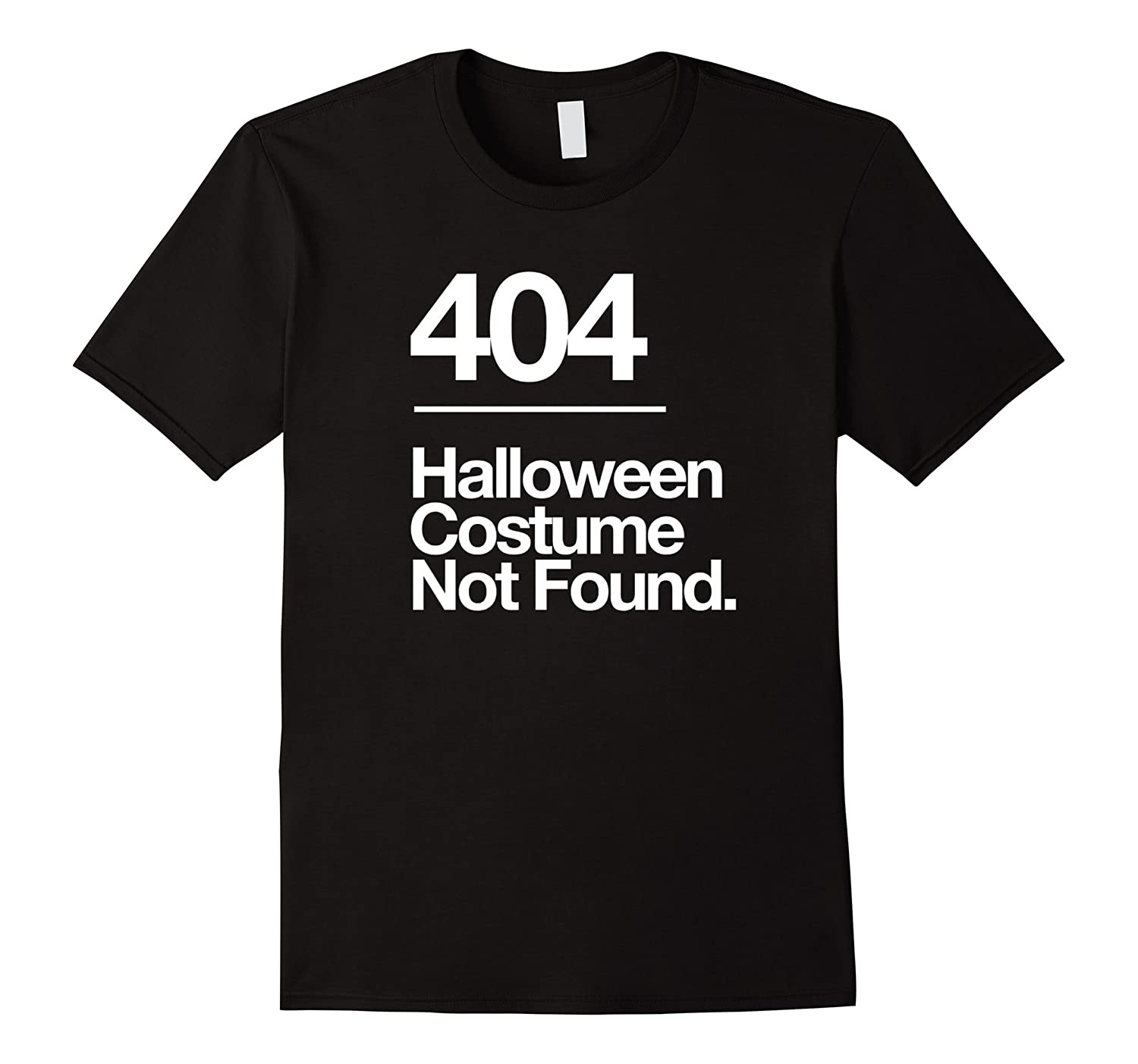 404 Costume Not Found Shirt Funny Costume Fail T-Shirt-Rose