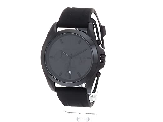c34098a0b926 Michael Kors Men s  Bradshaw  Quartz Stainless Steel and Silicone Casual  Watch