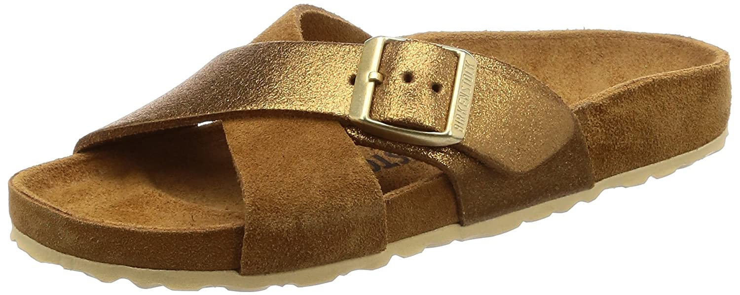 2e4df926b96 Birkenstock Womens Siena EXQ Suede Leather Sandals  Amazon.co.uk  Shoes    Bags