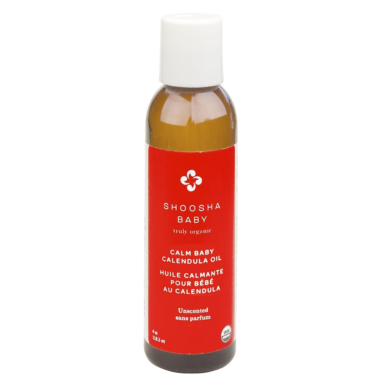 Shoosha Calm Baby Calendula Oil, Unscented Kushies O100