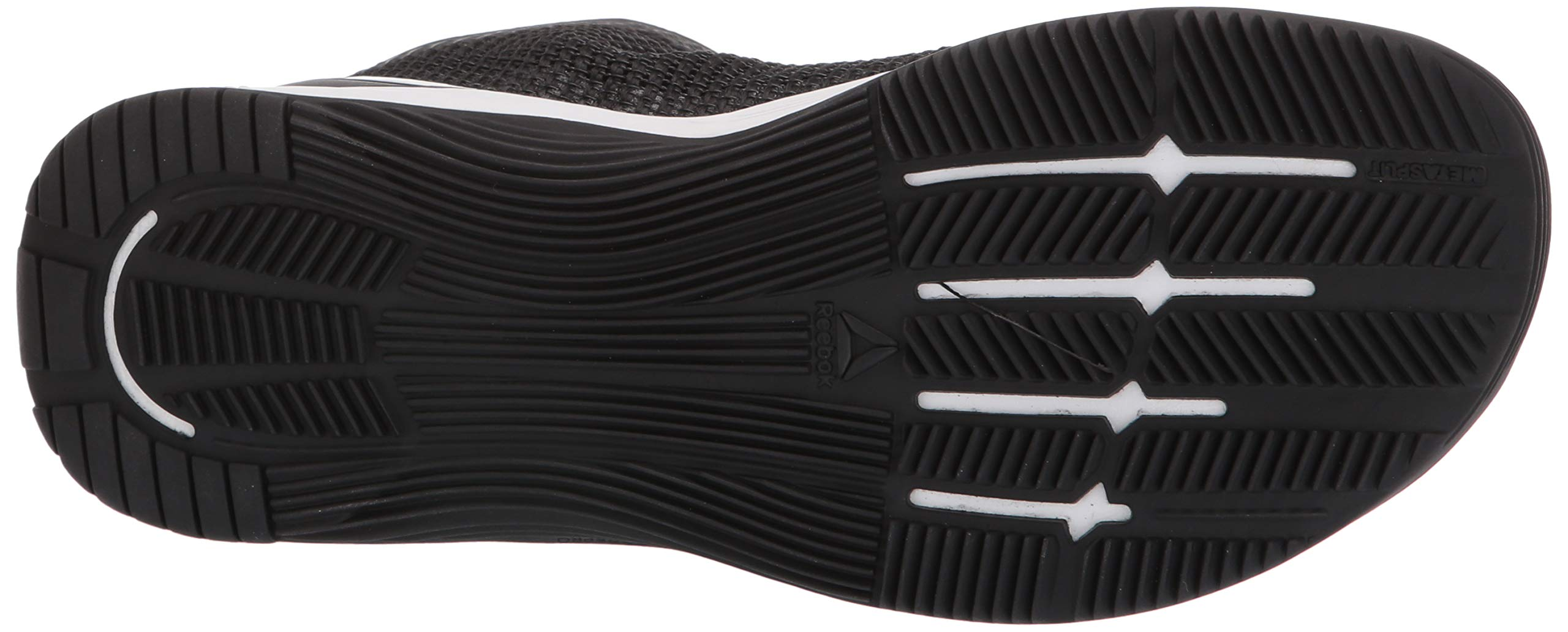 Reebok Women's CROSSFIT Nano 8.0 Flexweave Cross Trainer, Black/White, 5 M US by Reebok (Image #3)