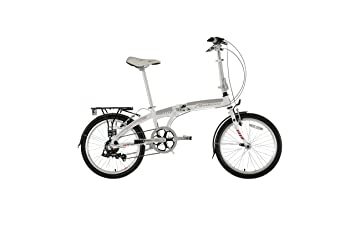 "Falcon Go To - Bicicleta plegable, cuadro de 13"", color blanco"