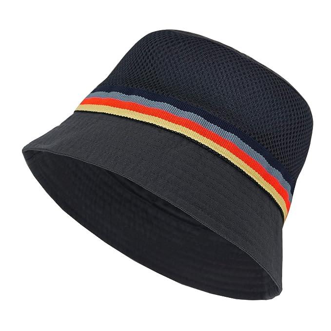 9375503e Keepersheep Infant Baby Toddler Boys Girls Sun Bucket Hat, Newborn  Fisherman Bucket Hat (Dark