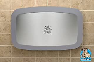 product image for Koala Kare KB200-01SS Horizontal Baby Changing Station - Grey w/ Stainless Veneer