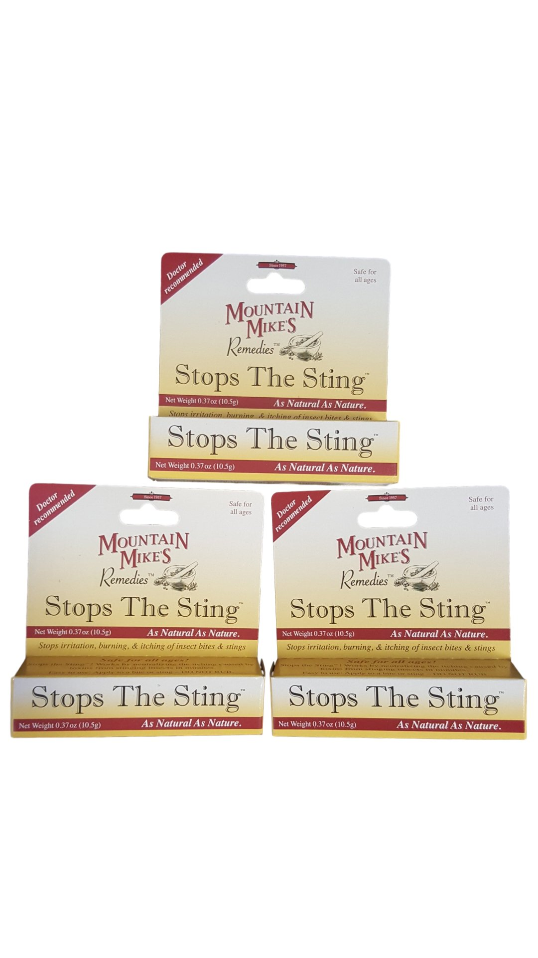 Stops the Sting .37 oz. (3 Pack) by Stops the Sting