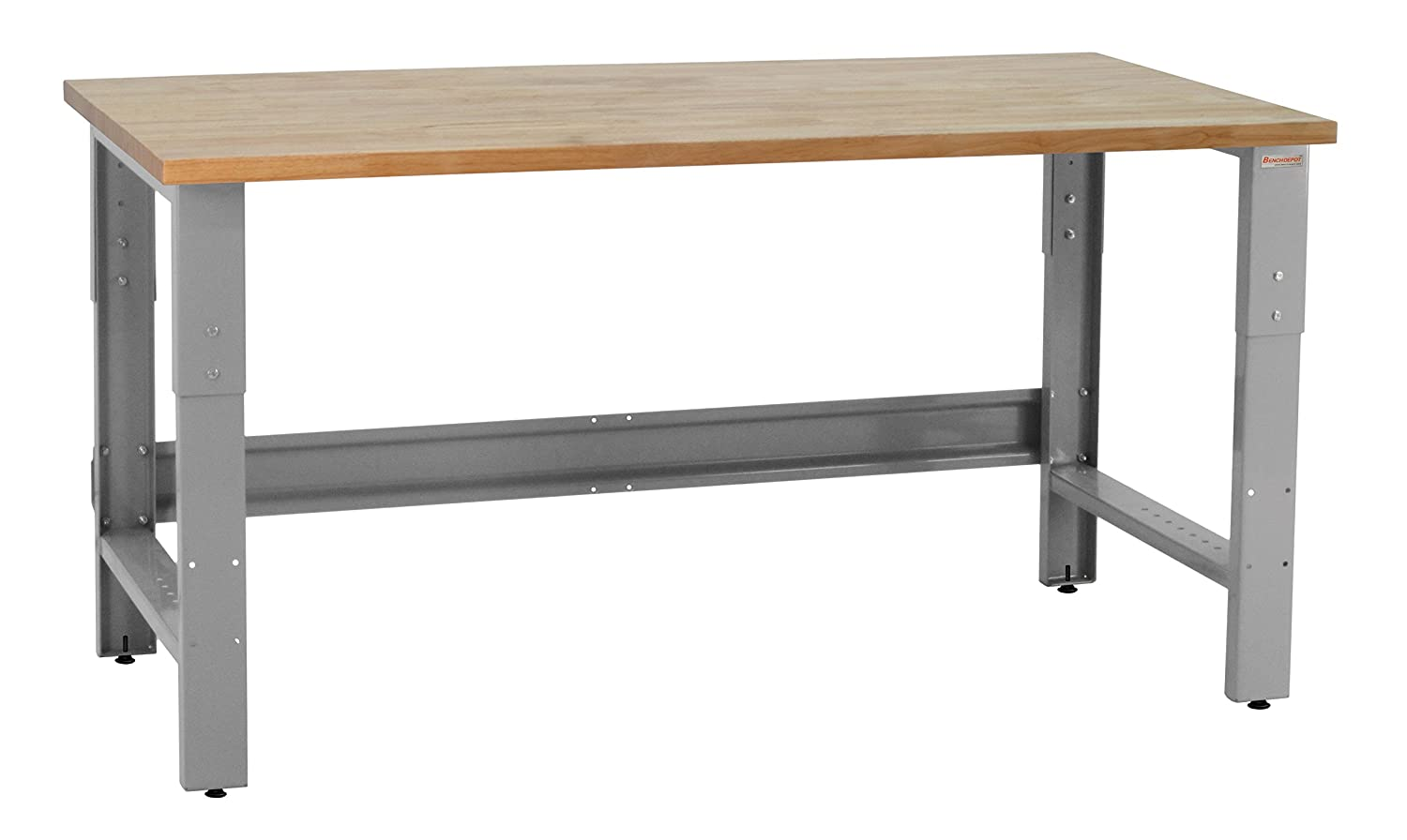 Pleasant Benchpro Roosevelt Workbench Heavy Duty Steel With 1 Chemical Resistant Phenolic Resin Top 1 200 Lb Capacity 24 Depth X 48 Length 30 36 Gmtry Best Dining Table And Chair Ideas Images Gmtryco