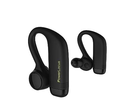 Auriculares Bluetooth, PowerLocus Auriculares Inalámbricos Bluetooth in-ear con Microfono True Wireless Auriculares deportivos