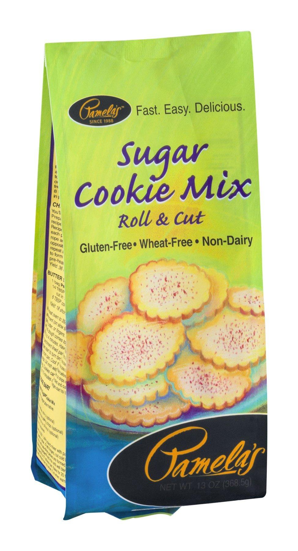 Pamelas Sugar Cookie Mix, 13 Ounce - 6 per case.