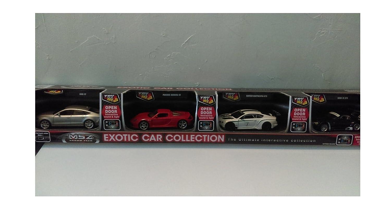 Msz 4 Pack Exotic Cars Collection Audi A7 Porsche