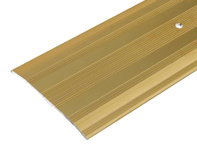 Bulk Hardware Bh05664 Bande Moquette en aluminium avec finition doré e, 900 mm (88,9 cm), Extra Large 60 mm (2.3/20,3 cm) 900mm (88 9cm) Extra Large 60mm (2.3/20 3cm) Bulk Hardware Limited