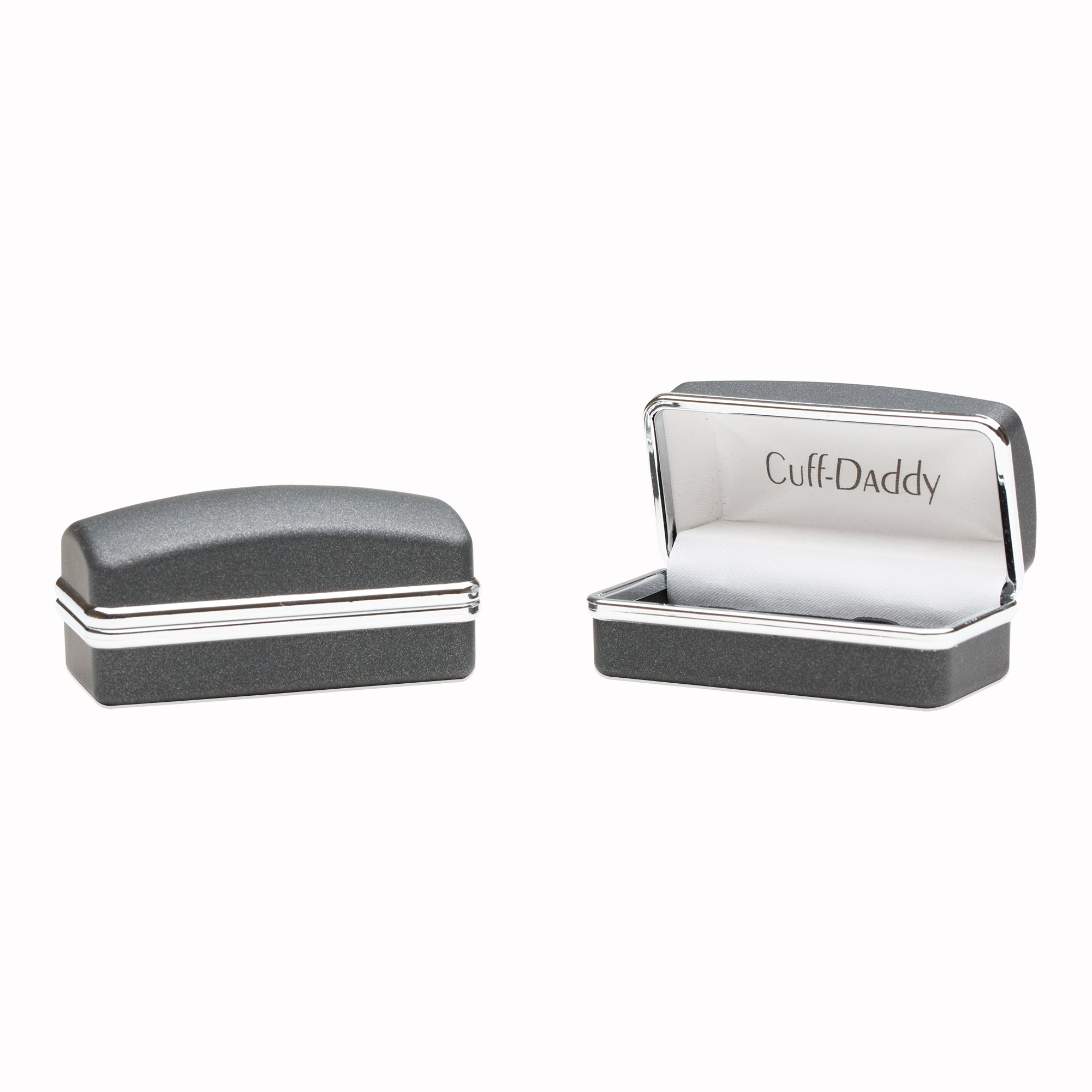 Cuff-Daddy Construction Hammer Saw Cufflinks for Carpenters by Cuff-Daddy (Image #2)