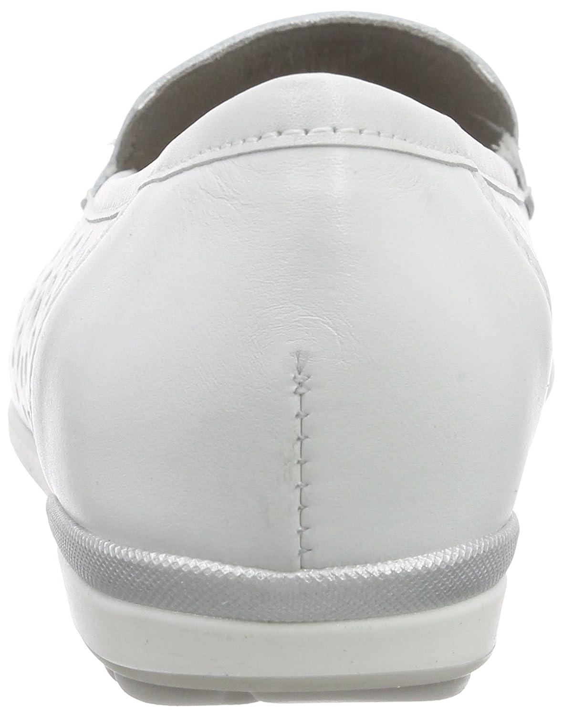 ARA Damen 05) Monterey Mokassin Weiß (Weiss/Silber 05) Damen 8dd3e9