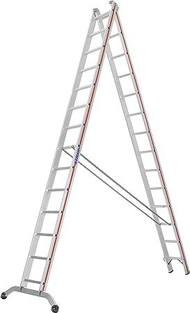 HYMER 604528 - Escalera multifunción: Amazon.es: Bricolaje y herramientas