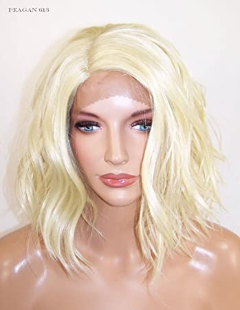 Amazoncom All Colors Lace Front Wig Shoulder Length Bob Beach
