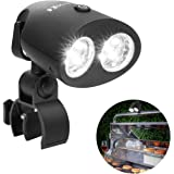 MARNUR BBQ Grill Light LED Barbecue Grill Lighting Reading Camping Lights Ultra Brightness Waterproof with 360°Rotation Angle for Gas,Charcoal and Electric Grills