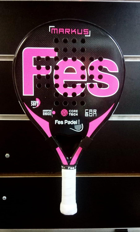 Pala padel FES MARKUS FesPadel rosa: Amazon.es: Deportes y ...