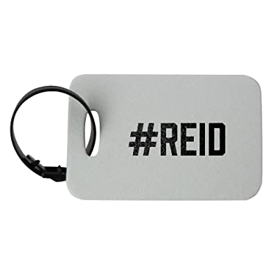 #REID luggage tag