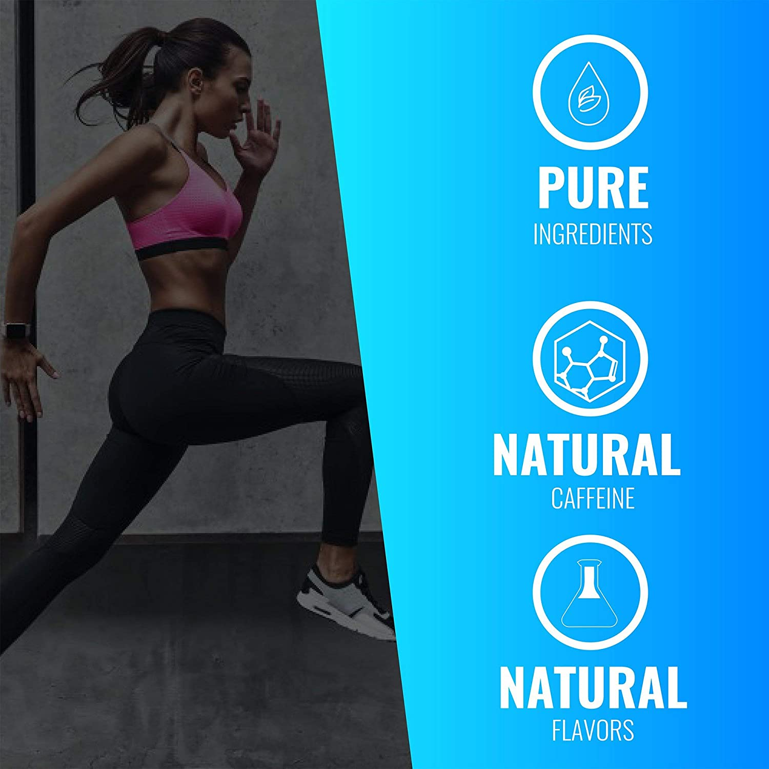 EC Sports, OptiForce Pre-Workout, Clean Energy, 6G Citrulline Mallate, 2G Beta Alanine, 2G Betaine Anhydrous, Natural Caffeine, Candy Watermelon, 30 Servings, 15.34oz: Health & Personal Care