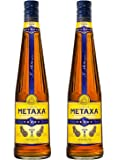 Metaxa 5 Star Brandy 70cl Bottle x 2 Pack