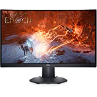 "DELL Gaming S2422HG 24"""" Curved FHD 165Hz VA Ultra-Thin Bezel Monitor, AMD FreeSync Premium, Black"