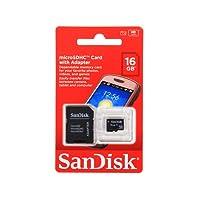 Micro SDHC 16GB Sandisk Original Lacrado + Adaptador Gratis