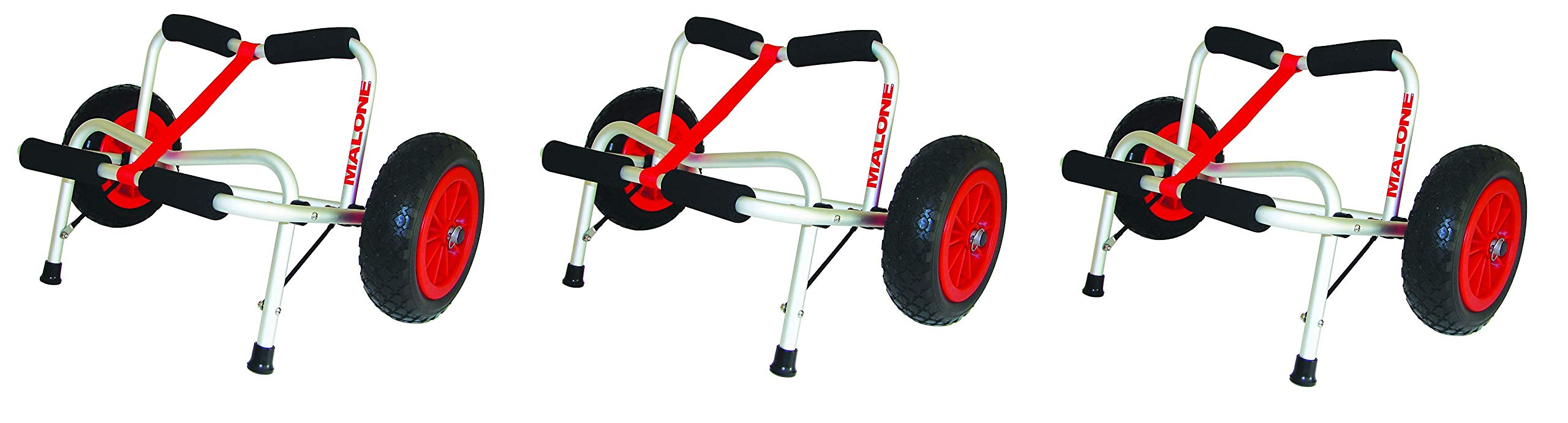 Malone Clipper Deluxe Universal Kayak Cart (Pack of 3) by Malone