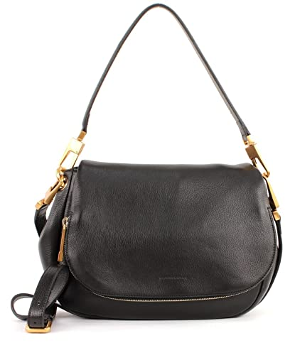 aac01c6885ef4 COCCINELLE Tasche Roxy mit Klappe Nero  Amazon.de  Schuhe   Handtaschen