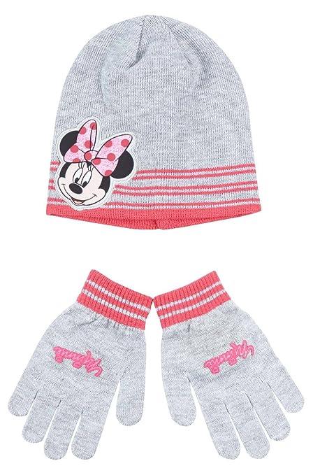 Berretto e guanti bambino ragazza Minnie Grigio di 3 a 9 anni grigio grigio  52 ( e56a853a00db