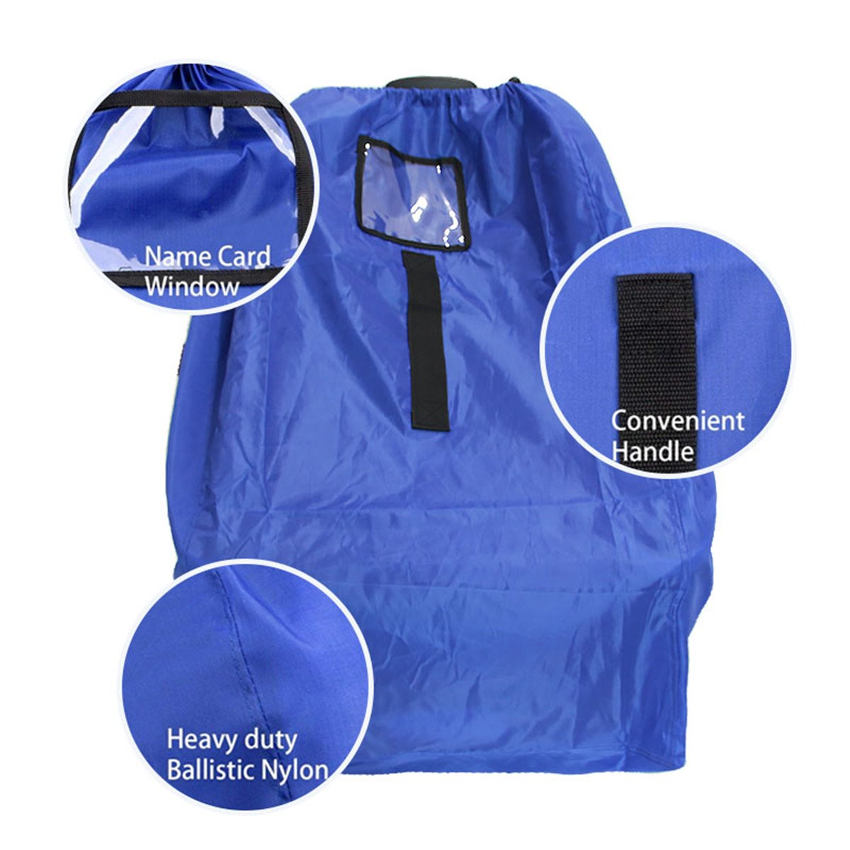 Car Seat Travel Bag Gate Check For Air Airplane Fits All Toddler