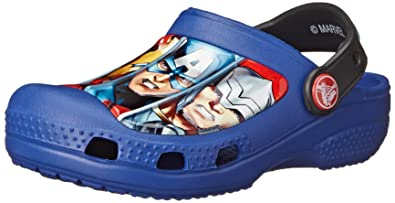 2361166d4a3935 crocs Marvel Avengers III Clog (Toddler Little Kid)