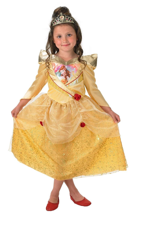 Rubies s oficial del niño Shimmer - Belle disfraz - grande: Amazon.es: Juguetes y juegos