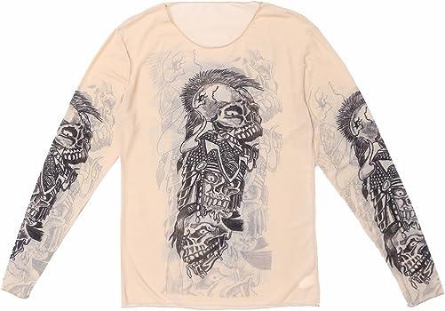 iiniim Camiseta Tatuaje de Manga Larga Ropa Tatuaje Transprable ...