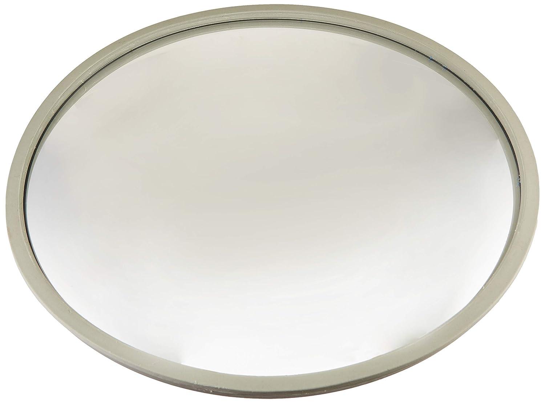 18 Acrylic Bubble Half Dome Mirror With Black Rim Round Indoor Security Durable