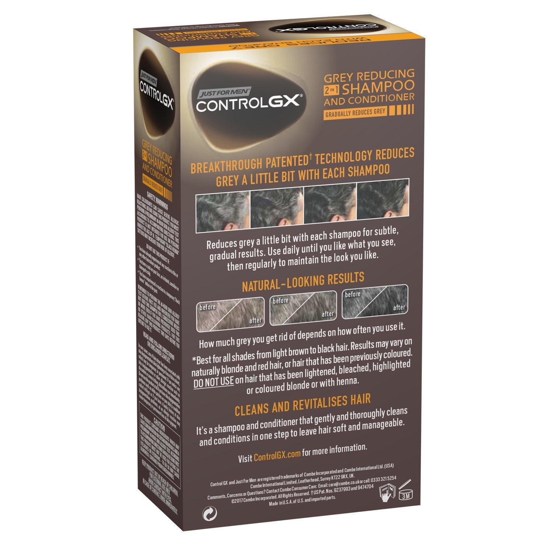 Sólo para hombres Control GX 2 en 1 Champú y Acondicionador, 147 ml: Amazon.es: Salud y cuidado personal