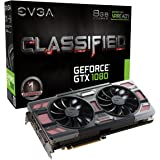 EVGA 08G-P4–6386-kr EVGA GeForce GTX 1080Classified Gaming ACX 3.08GB GDDR5X VR Grafikkarte bereit–Schwarz