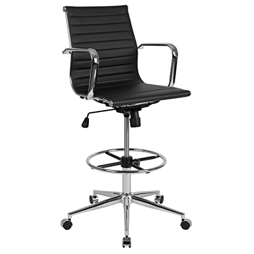 Flash Furniture H-111-DFT-GG Drafting Stools, Black
