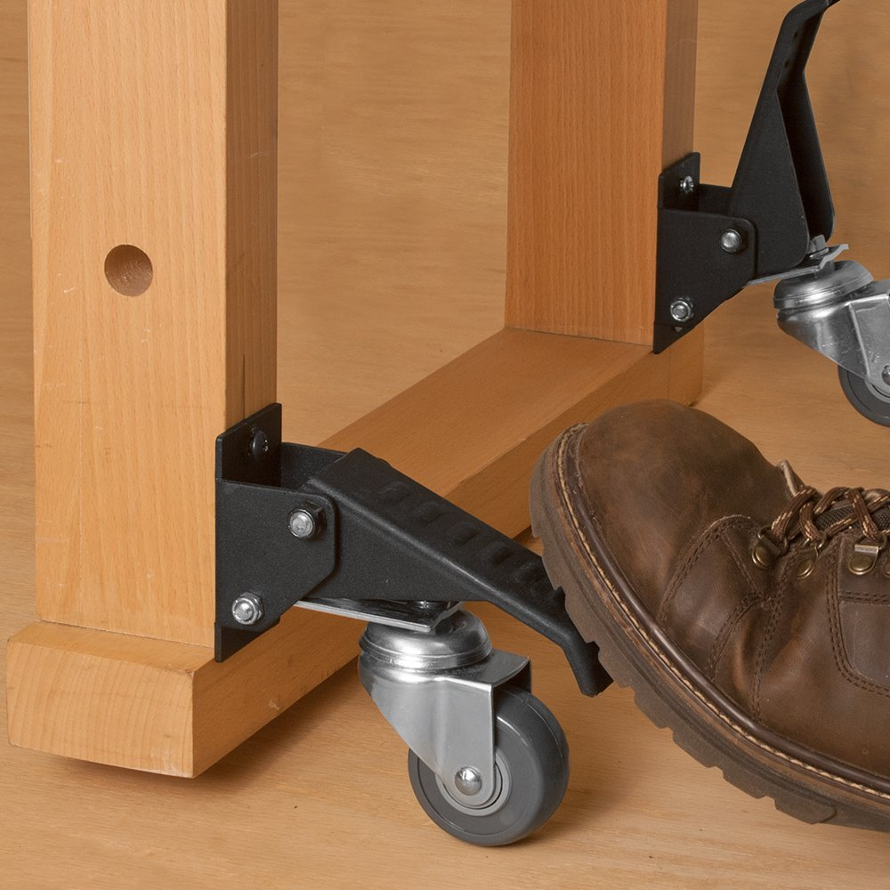 Work Bench Caster Kit ( pack of 4 ) by Fulton (Image #2)
