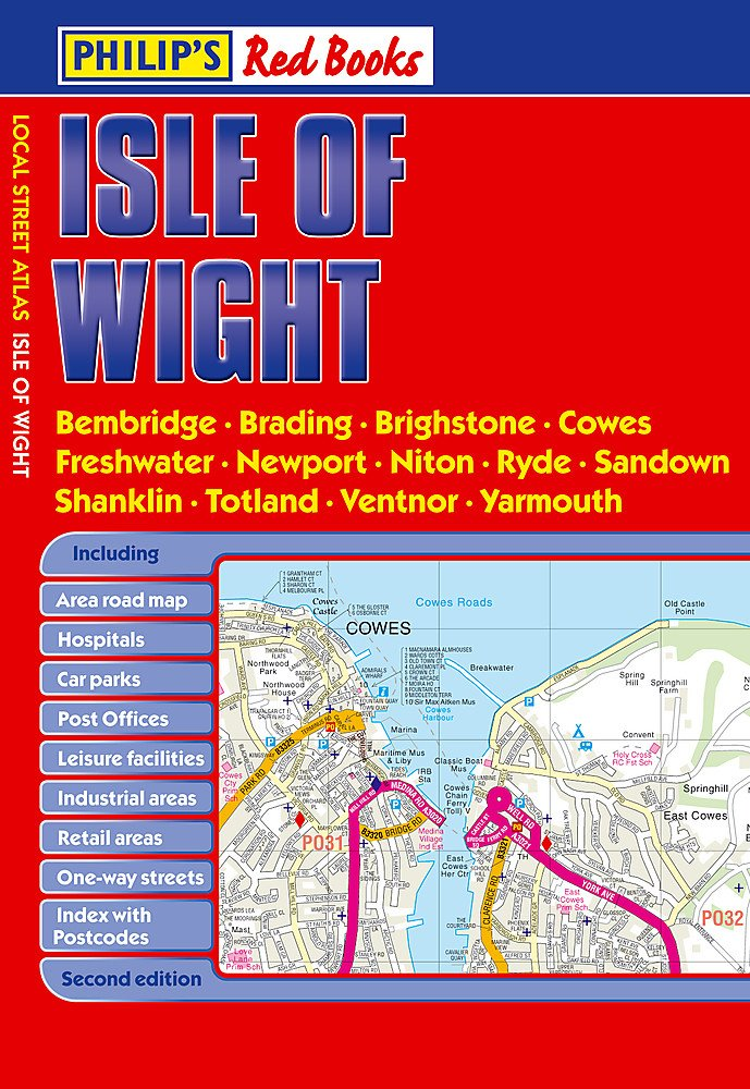 Read Online Philip's Red Books Isle of Wight pdf