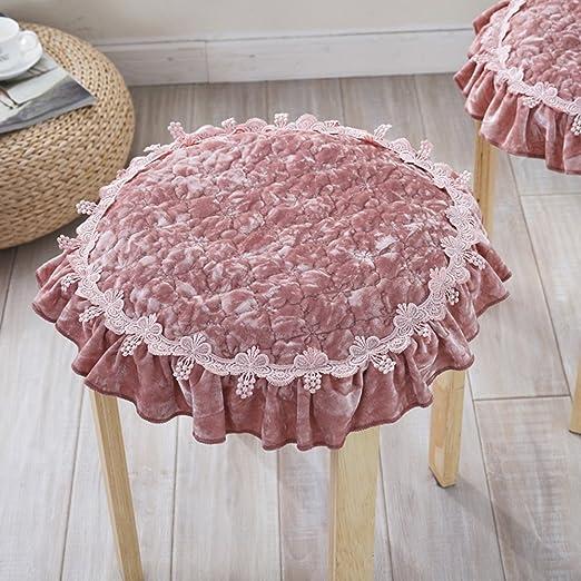 Wangs Home - Cojín redondo de tela para tapicería de las ...