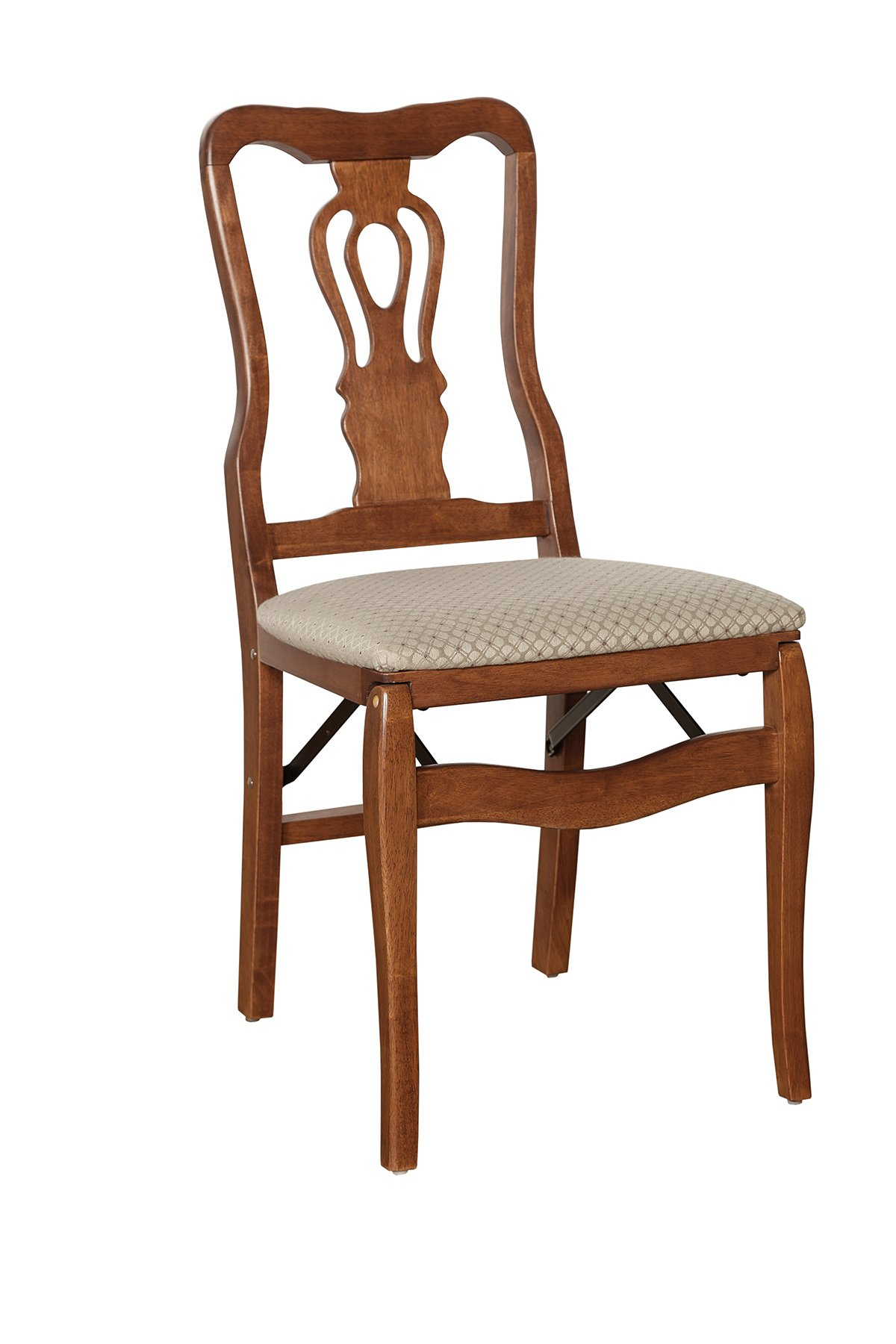 Stakmore Chippendale Folding Chair Finish, Set of 2, Cherry by MECO