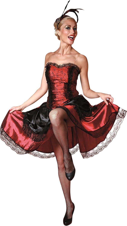 Disfraz de bailarina de can can francés - Única: Amazon.es ...
