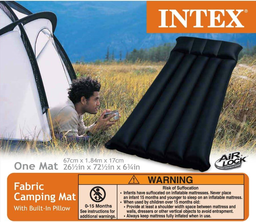 Intex-Luftbett Luftmatratze Camping 67997 67/x 184/x 17/cm