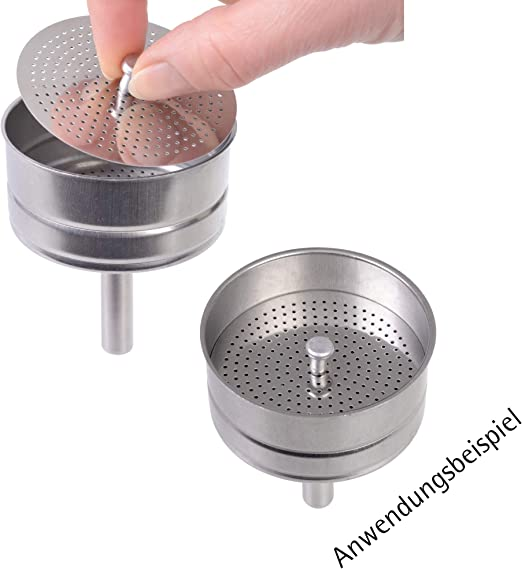 Reductor de volumen para cafeteras moka, modelo -: Amazon.es: Hogar