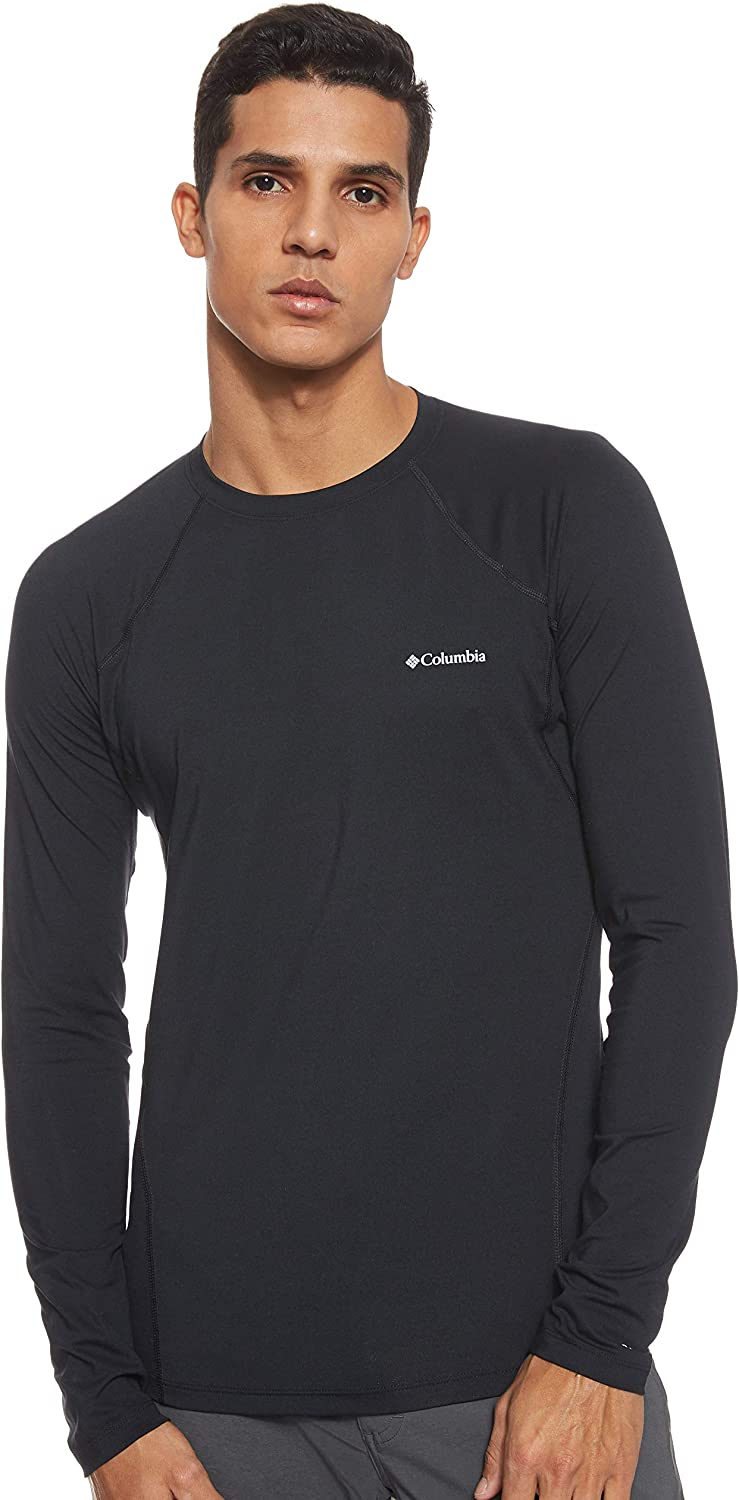 Columbia Mens Midweight Stretch Long Sleeve Top