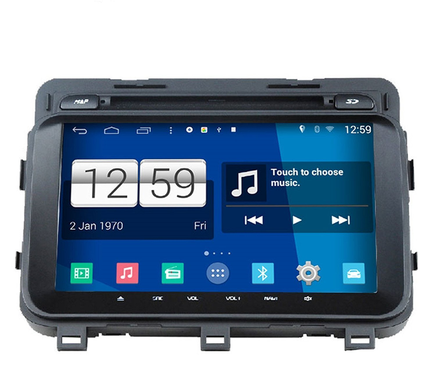 Roverone Android 444 Car Dvd Player For Kia Optima K5 2004 Thermostat Location 2014 2015 With Gps Navigation Radio Bluetooth Sd Usb Mirror Link Touch Screen