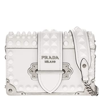 27c5d90793d4 Image Unavailable. Image not available for. Color: Prada Small Cahier  Shoulder Bag ...