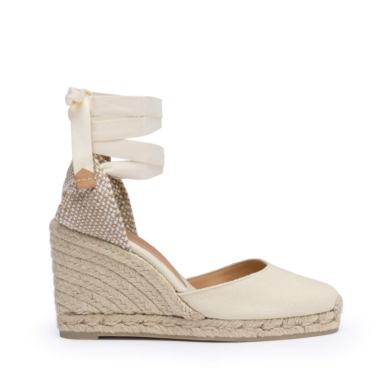 34a0b0617b8 Amazon.com | Castaner Women's Carina Canvas Wedge Espadrille Shoes ...