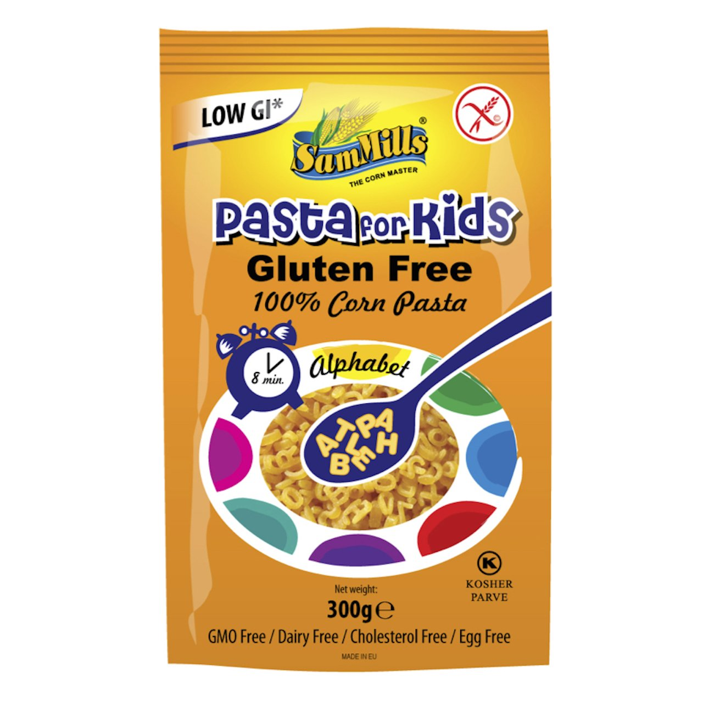 Sam Mills Gluten Free Alphabet Pasta for Kids 300 g